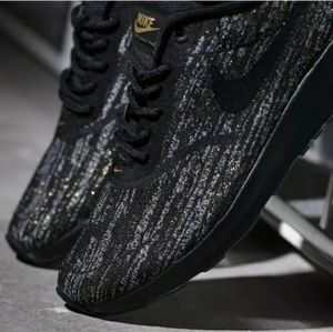 Nike Air Max Thea Jcrd Black and Gold